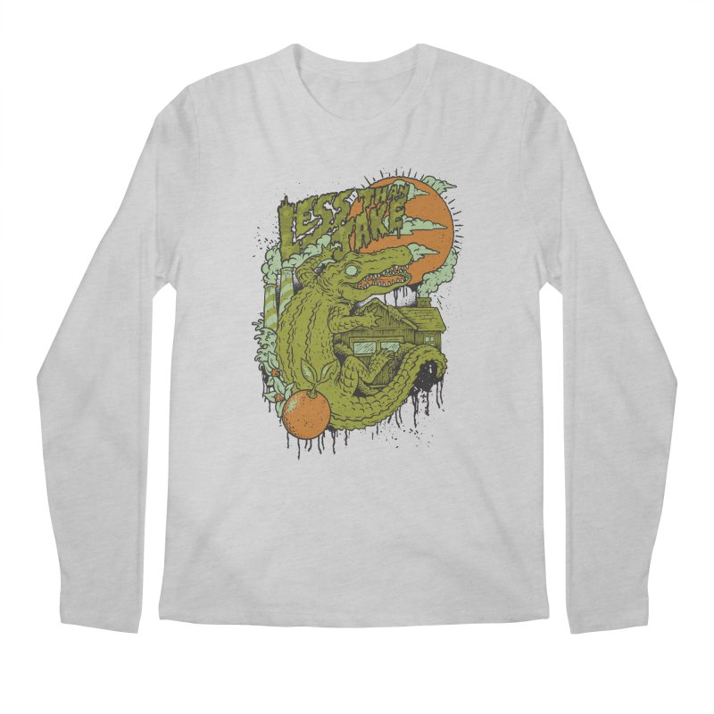 LTJ Gator Gville Men's Regular Longsleeve T-Shirt by Less Than Jake T-Shirts and more!