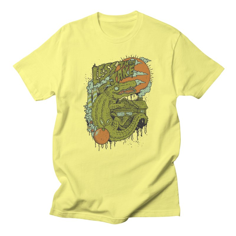 LTJ Gator Gville Men's T-Shirt by Less Than Jake T-Shirts and more!