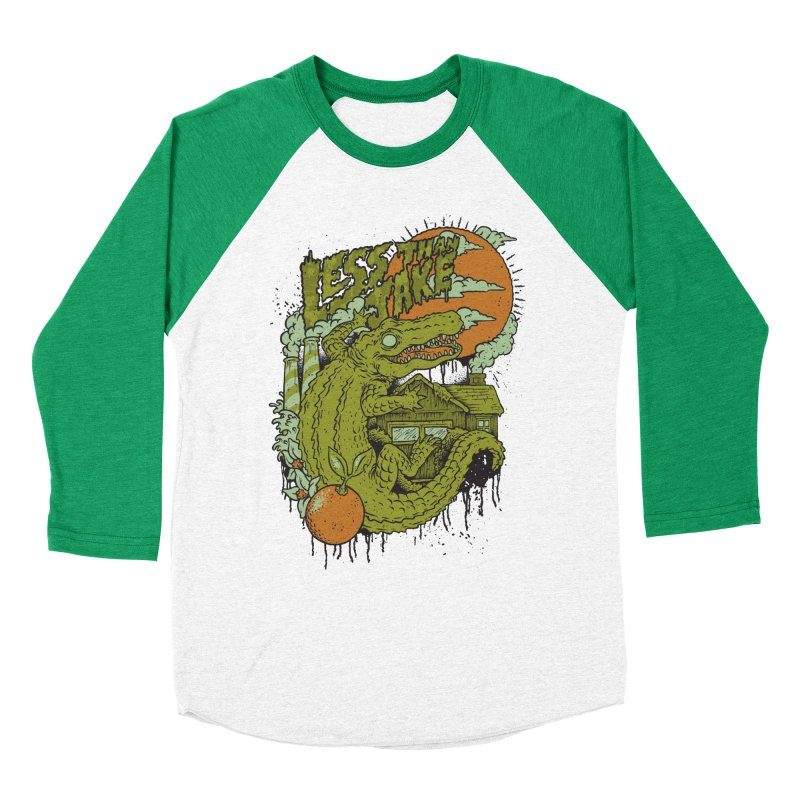 LTJ Gator Gville Men's Baseball Triblend Longsleeve T-Shirt by Less Than Jake T-Shirts and more!