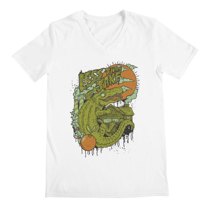 LTJ Gator Gville Men's Regular V-Neck by Less Than Jake T-Shirts and more!