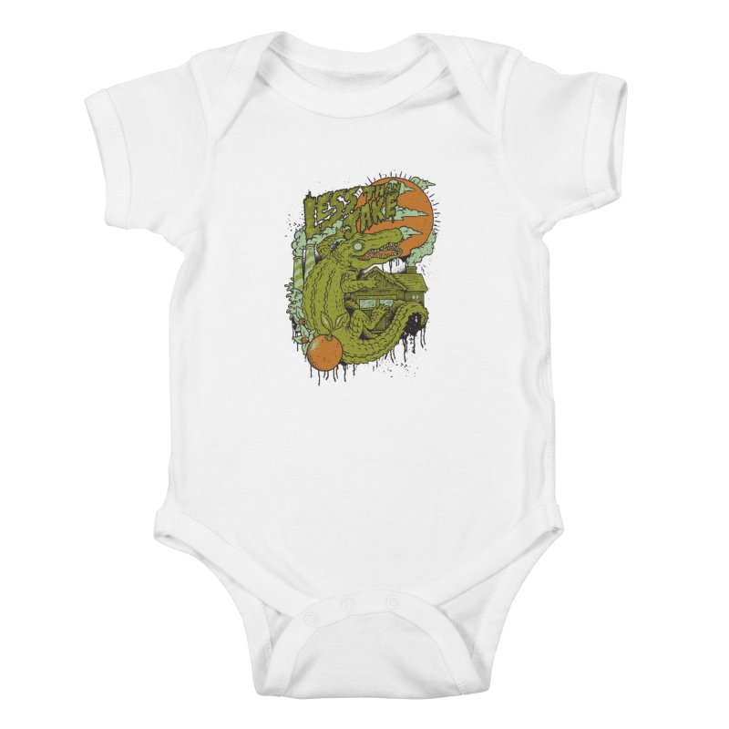 LTJ Gator Gville Kids Baby Bodysuit by Less Than Jake T-Shirts and more!