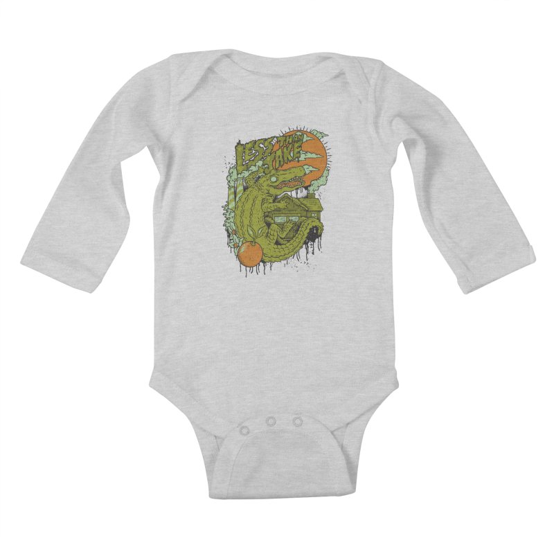 LTJ Gator Gville Kids Baby Longsleeve Bodysuit by Less Than Jake T-Shirts and more!
