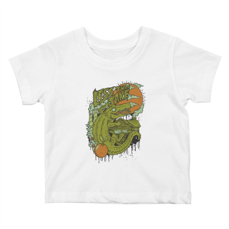 LTJ Gator Gville Kids Baby T-Shirt by Less Than Jake T-Shirts and more!