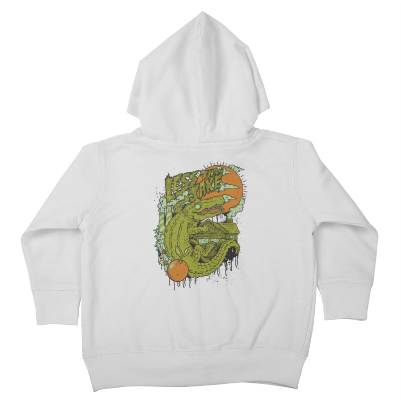 LTJ Gator Gville Kids Toddler Zip-Up Hoody by Less Than Jake T-Shirts and more!
