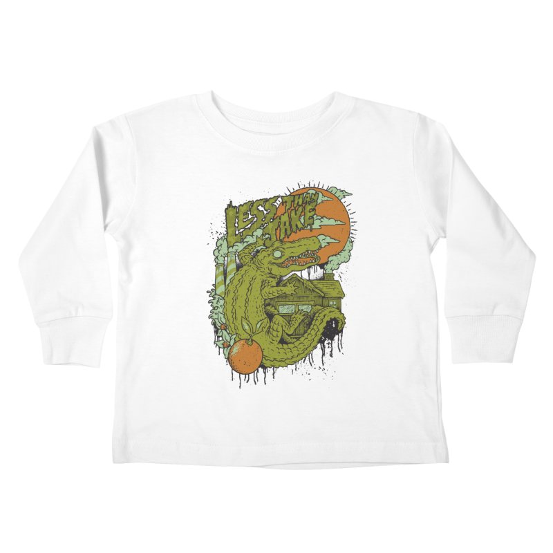 LTJ Gator Gville Kids Toddler Longsleeve T-Shirt by Less Than Jake T-Shirts and more!