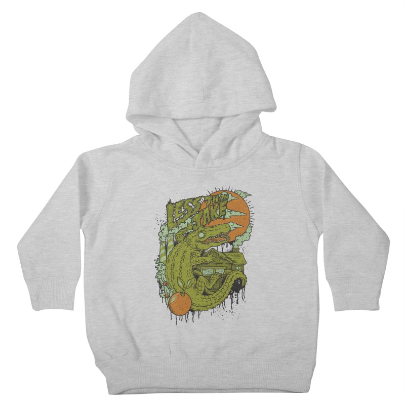LTJ Gator Gville Kids Toddler Pullover Hoody by Less Than Jake T-Shirts and more!