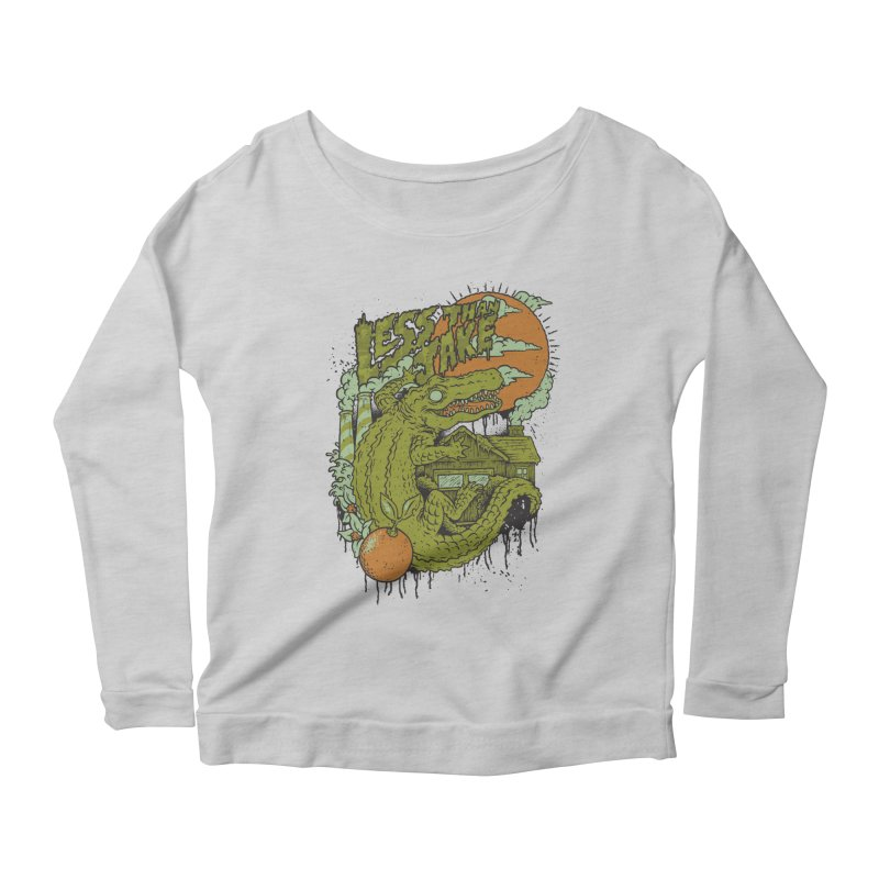 LTJ Gator Gville Women's Scoop Neck Longsleeve T-Shirt by Less Than Jake T-Shirts and more!