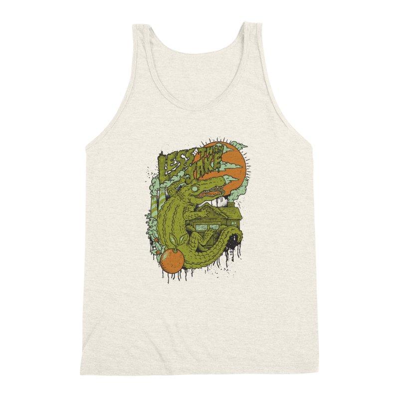 LTJ Gator Gville Men's Triblend Tank by Less Than Jake T-Shirts and more!