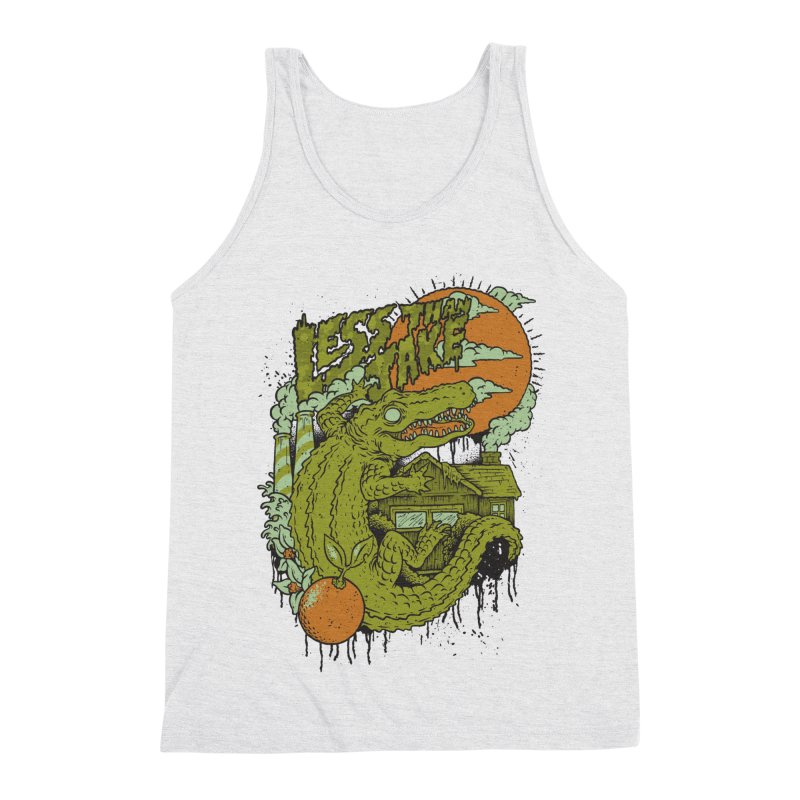 LTJ Gator Gville Men's Triblend Tank by Less Than Jake T-Shirts and more!