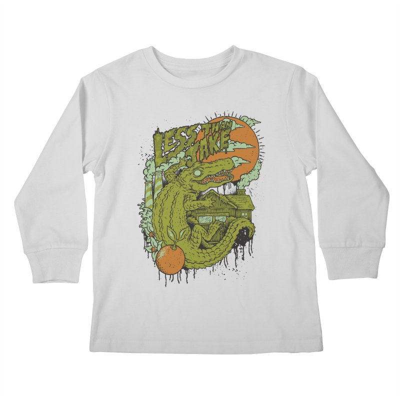 LTJ Gator Gville Kids Longsleeve T-Shirt by Less Than Jake T-Shirts and more!