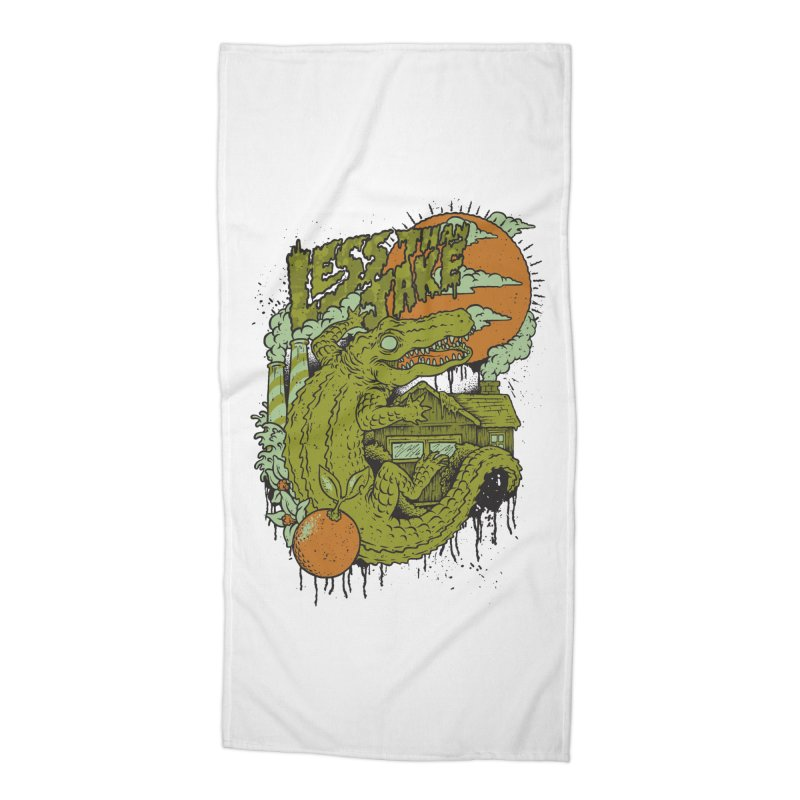 LTJ Gator Gville Accessories Beach Towel by Less Than Jake T-Shirts and more!