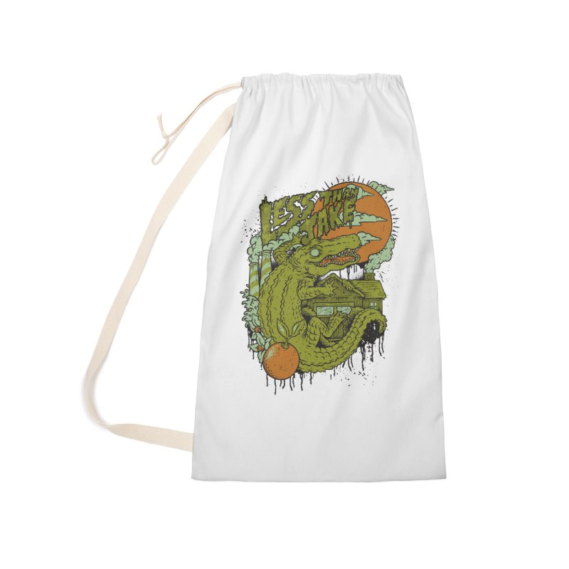 LTJ Gator Gville Accessories Laundry Bag Bag by Less Than Jake T-Shirts and more!