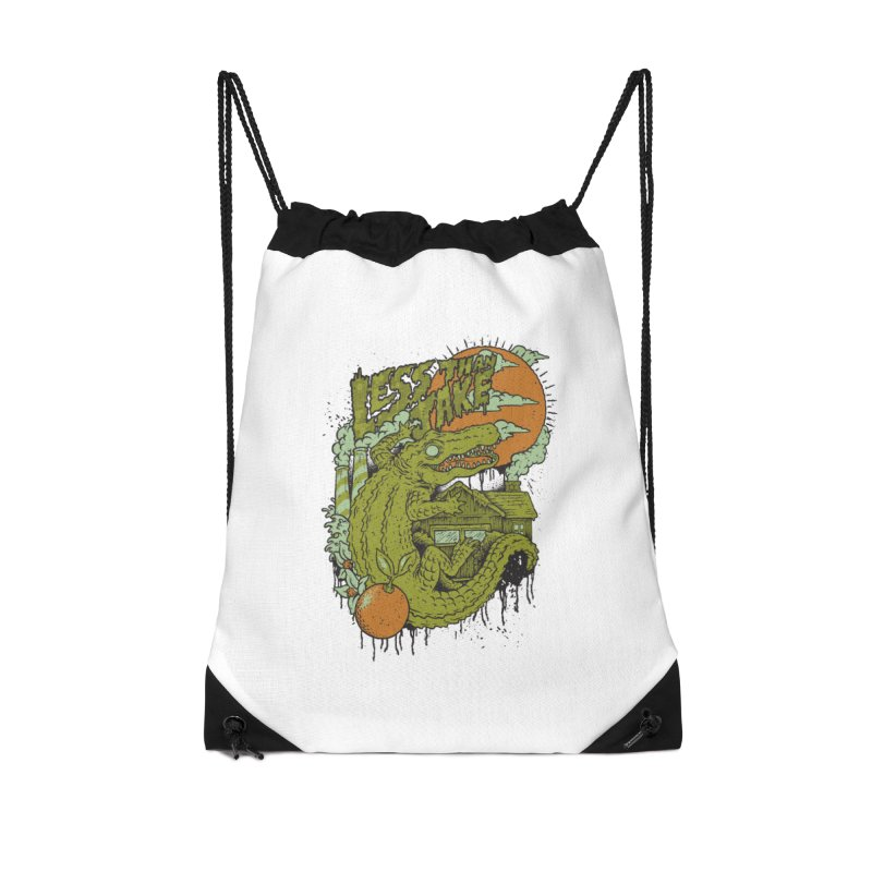 LTJ Gator Gville Accessories Drawstring Bag Bag by Less Than Jake T-Shirts and more!