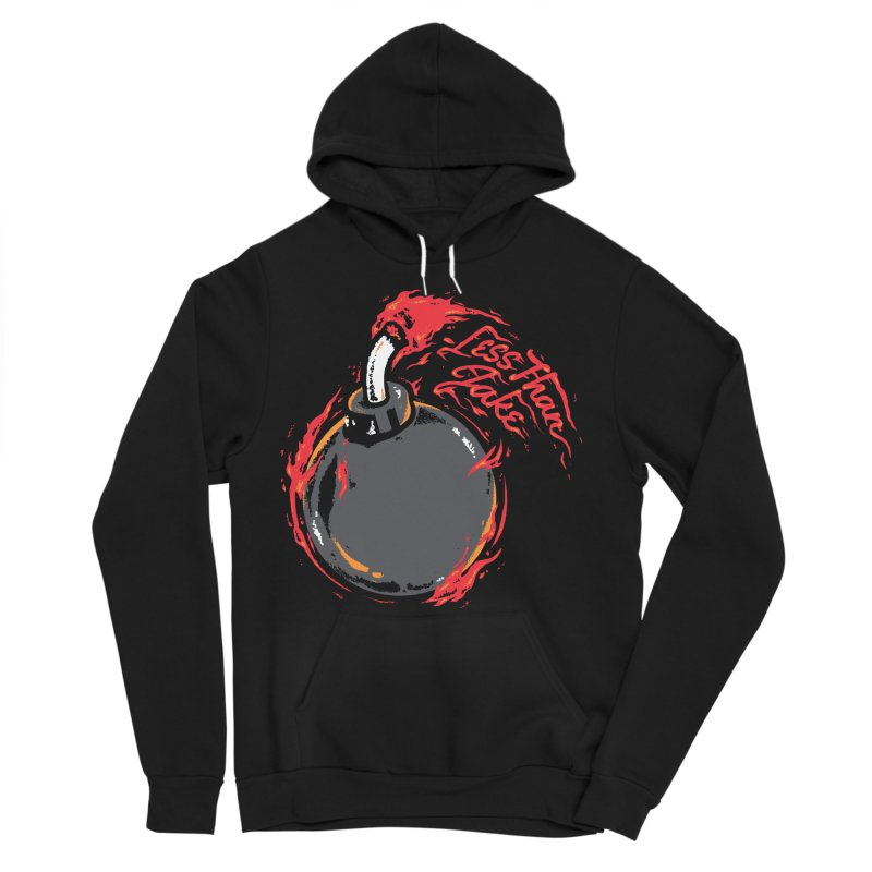 Burner Men's Sponge Fleece Pullover Hoody by Less Than Jake T-Shirts and more!