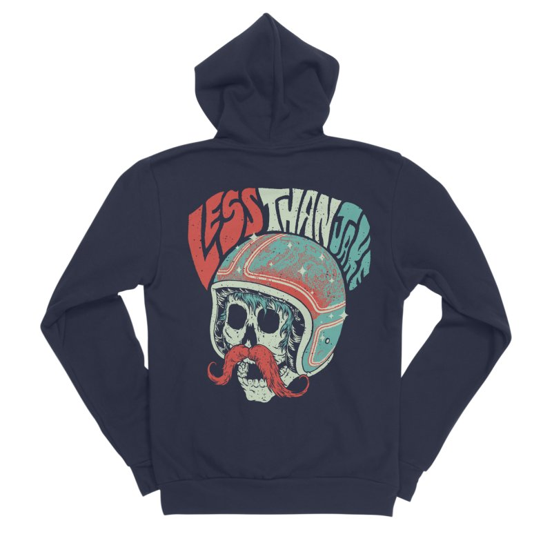 Biker Women's Sponge Fleece Zip-Up Hoody by Less Than Jake T-Shirts and more!