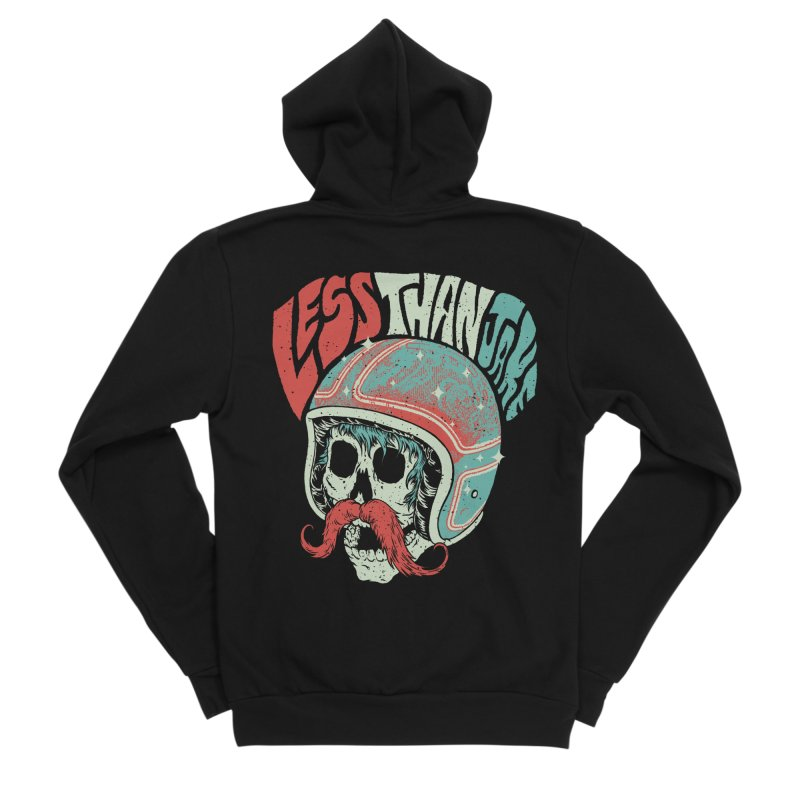 Biker Men's Zip-Up Hoody by Less Than Jake T-Shirts and more!