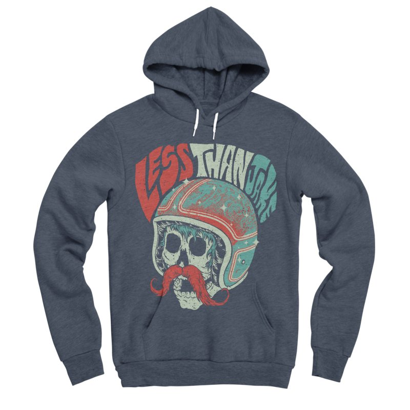 Biker Women's Sponge Fleece Pullover Hoody by Less Than Jake T-Shirts and more!