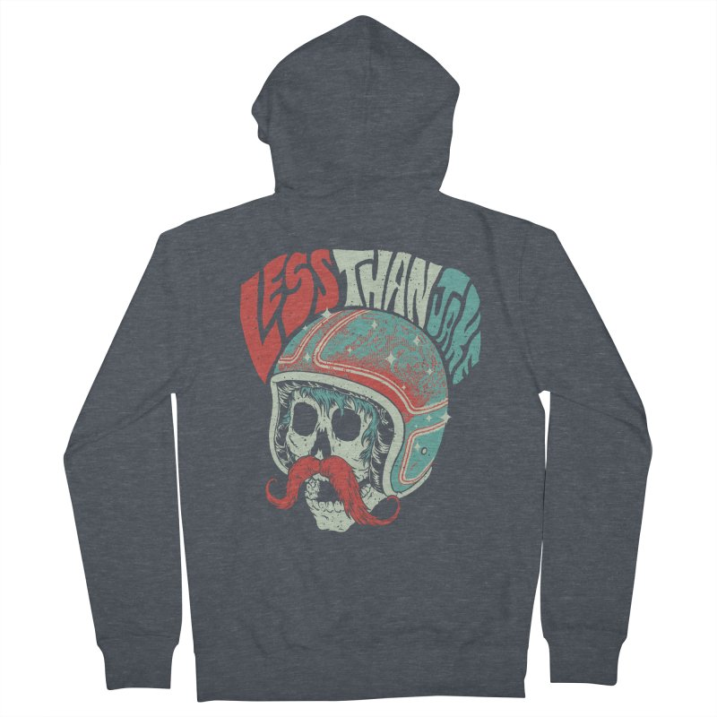 Biker Women's French Terry Zip-Up Hoody by Less Than Jake T-Shirts and more!