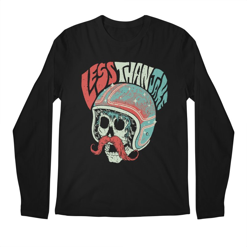Biker Men's Regular Longsleeve T-Shirt by Less Than Jake T-Shirts and more!