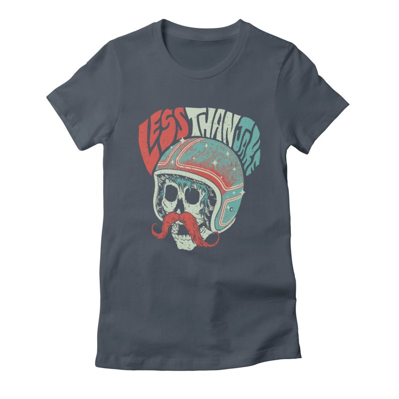 Biker Women's Fitted T-Shirt by Less Than Jake T-Shirts and more!