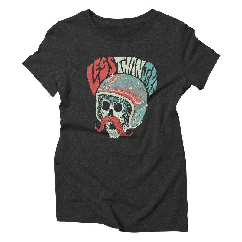 Biker Women's Triblend T-Shirt by Less Than Jake T-Shirts and more!