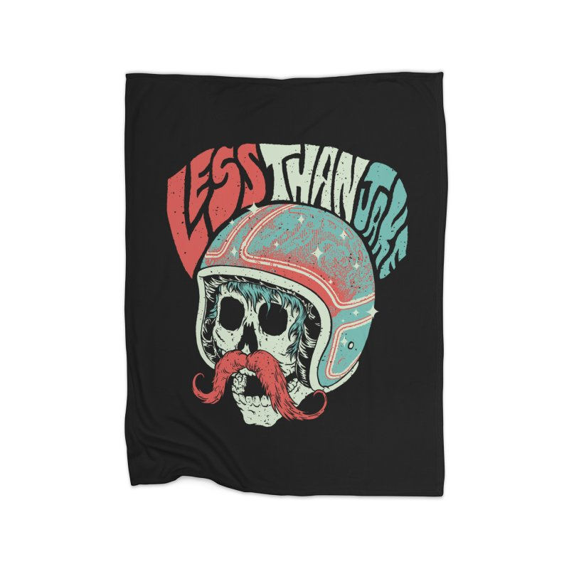 Biker Home Blanket by Less Than Jake T-Shirts and more!