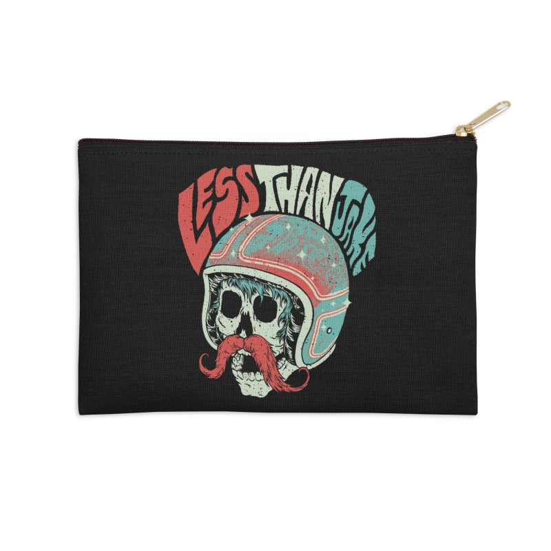 Biker Accessories Zip Pouch by Less Than Jake T-Shirts and more!