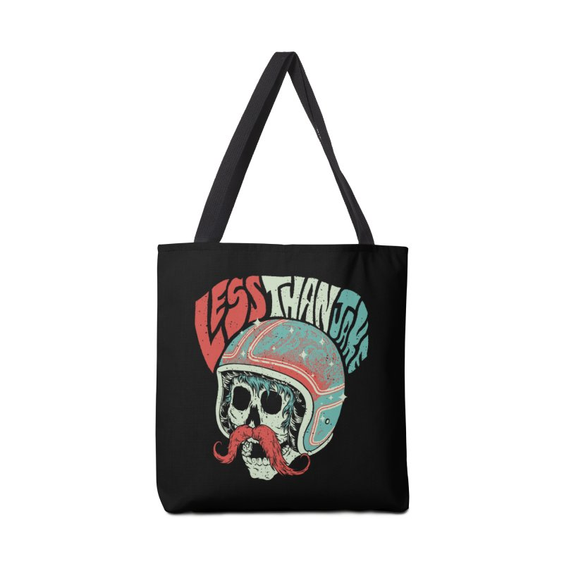 Biker Accessories Tote Bag Bag by Less Than Jake T-Shirts and more!