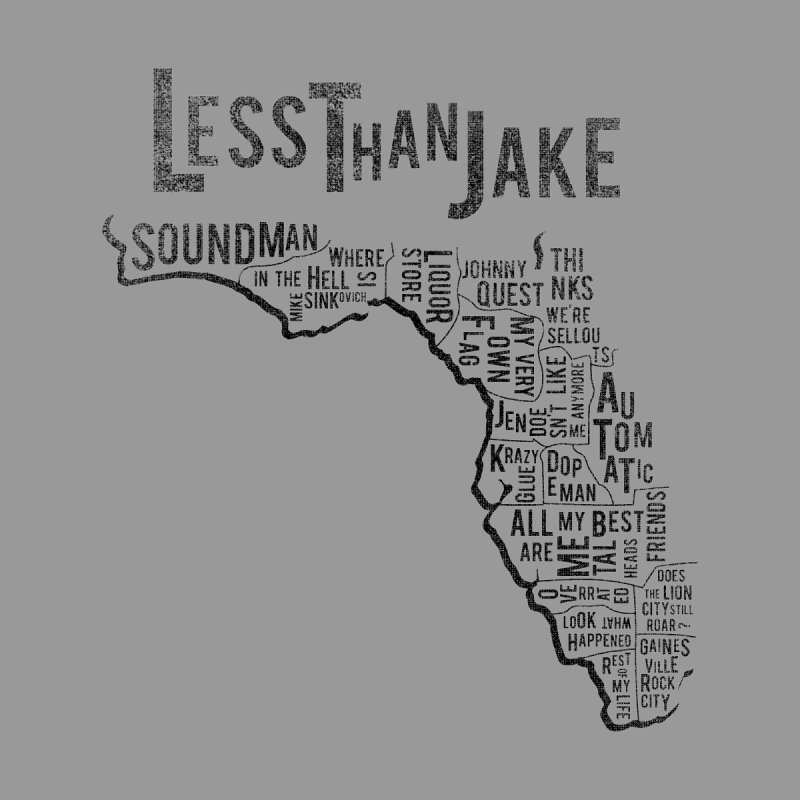 State Of Florida Women's Longsleeve T-Shirt by Less Than Jake T-Shirts and more!