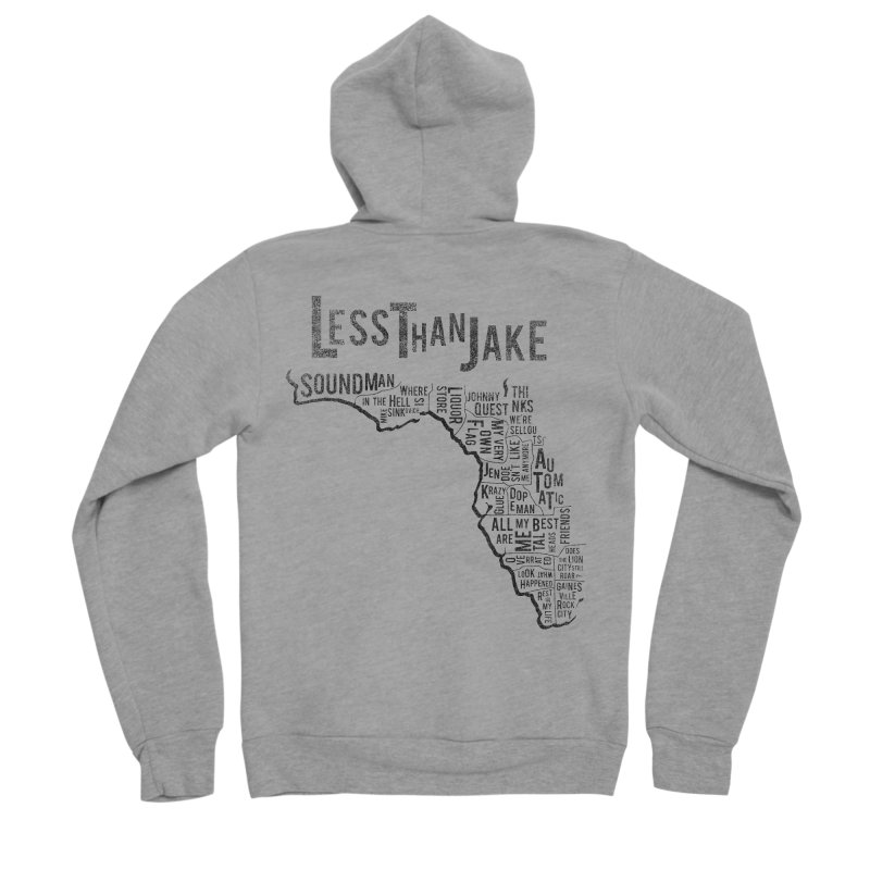 State Of Florida Women's Sponge Fleece Zip-Up Hoody by Less Than Jake T-Shirts and more!