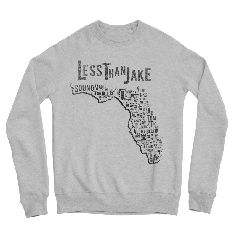 State Of Florida Women's Sponge Fleece Sweatshirt by Less Than Jake T-Shirts and more!
