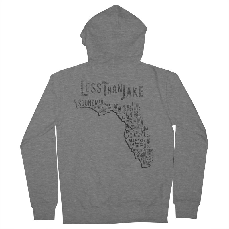 State Of Florida Men's Zip-Up Hoody by Less Than Jake T-Shirts and more!