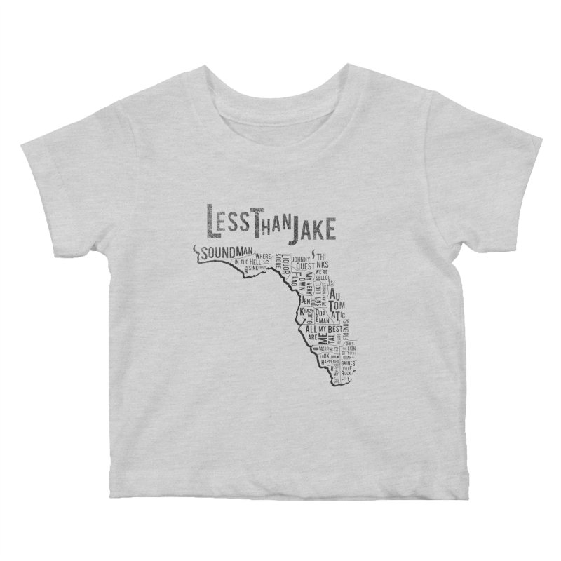 State Of Florida Kids Baby T-Shirt by Less Than Jake T-Shirts and more!