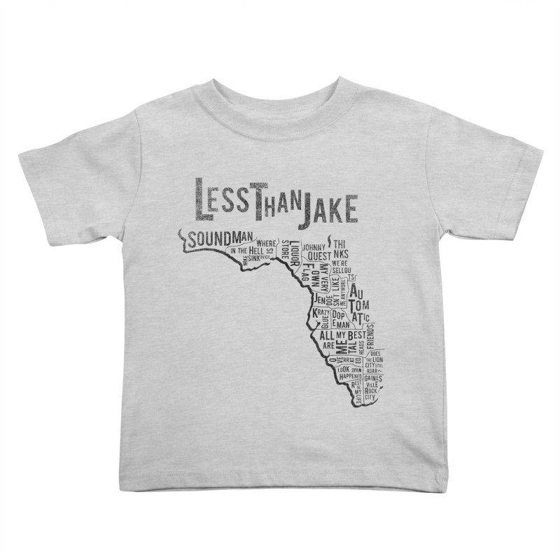 State Of Florida Kids Toddler T-Shirt by Less Than Jake T-Shirts and more!