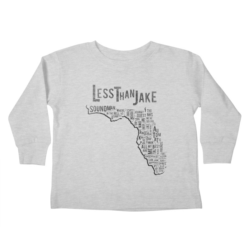 State Of Florida Kids Toddler Longsleeve T-Shirt by Less Than Jake T-Shirts and more!