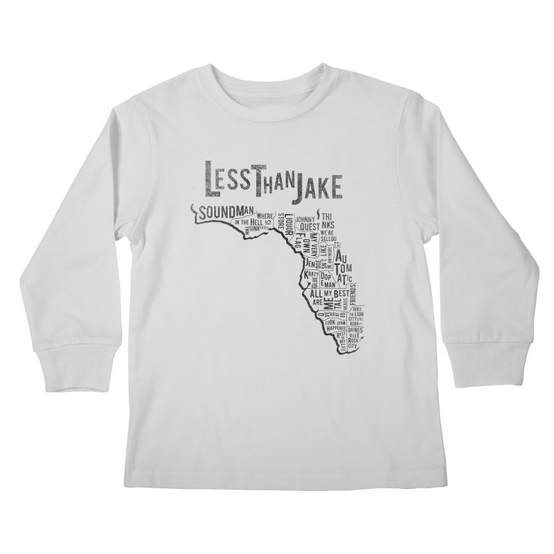 State Of Florida Kids Longsleeve T-Shirt by Less Than Jake T-Shirts and more!