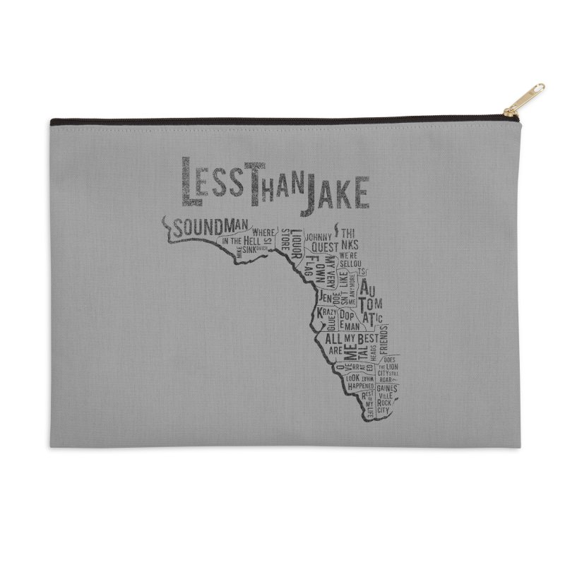 State Of Florida Accessories Zip Pouch by Less Than Jake T-Shirts and more!