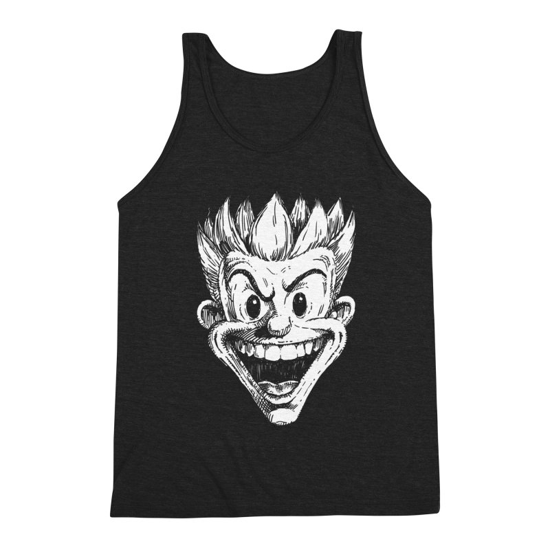 Kid Head Men's Triblend Tank by Less Than Jake T-Shirts and more!