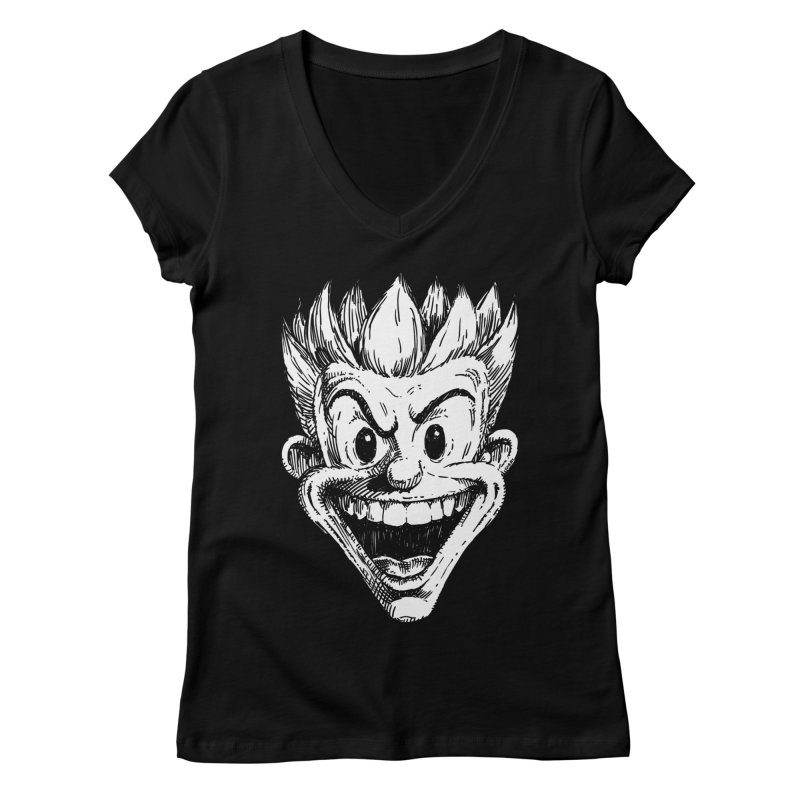 Kid Head Women's V-Neck by Less Than Jake T-Shirts and more!