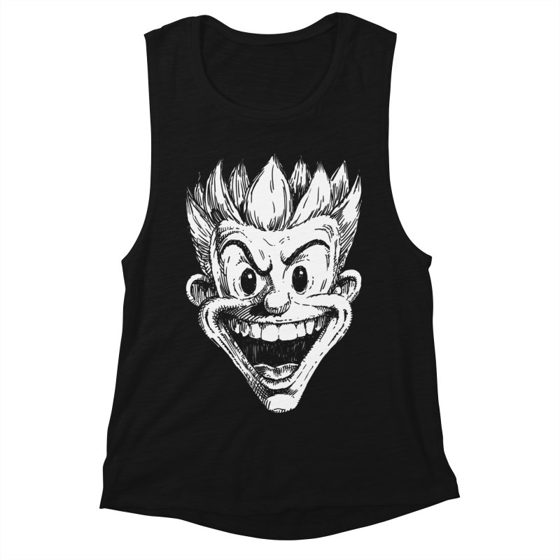 Kid Head Women's Muscle Tank by Less Than Jake T-Shirts and more!