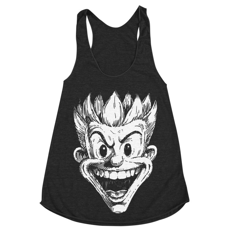 Kid Head Women's Racerback Triblend Tank by Less Than Jake T-Shirts and more!