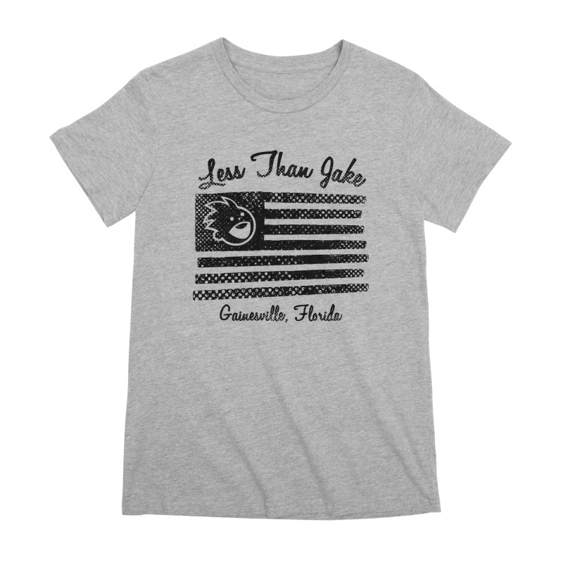 LTJ Flag Women's Premium T-Shirt by Less Than Jake T-Shirts and more!