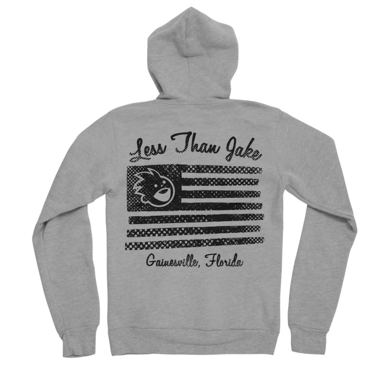 LTJ Flag Women's Sponge Fleece Zip-Up Hoody by Less Than Jake T-Shirts and more!