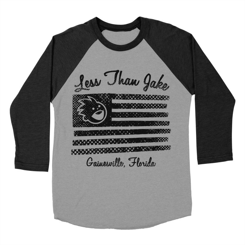 LTJ Flag Men's Baseball Triblend Longsleeve T-Shirt by Less Than Jake T-Shirts and more!