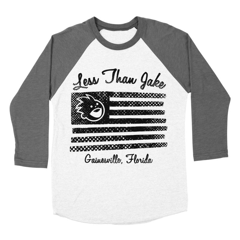 LTJ Flag Men's Baseball Triblend Longsleeve T-Shirt by Less Than Jake T-Shirts and more!