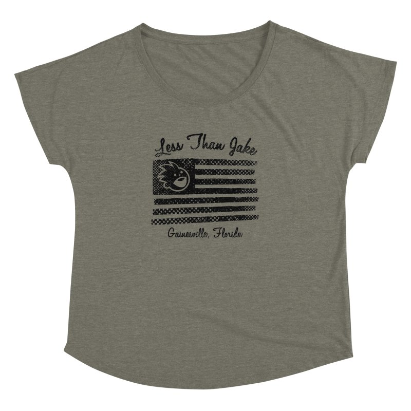 LTJ Flag Women's Dolman Scoop Neck by Less Than Jake T-Shirts and more!