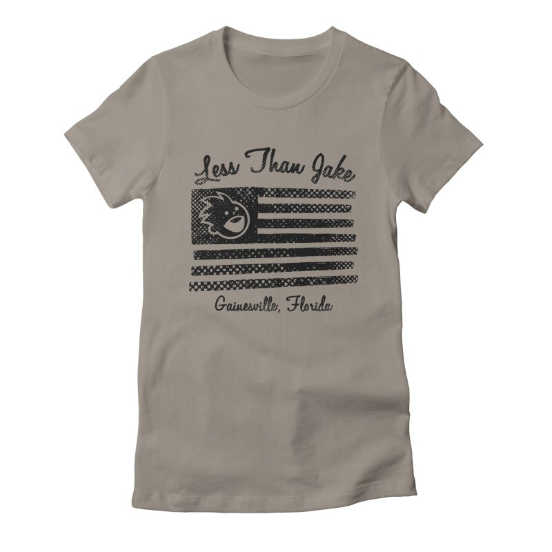 LTJ Flag Women's Fitted T-Shirt by Less Than Jake T-Shirts and more!