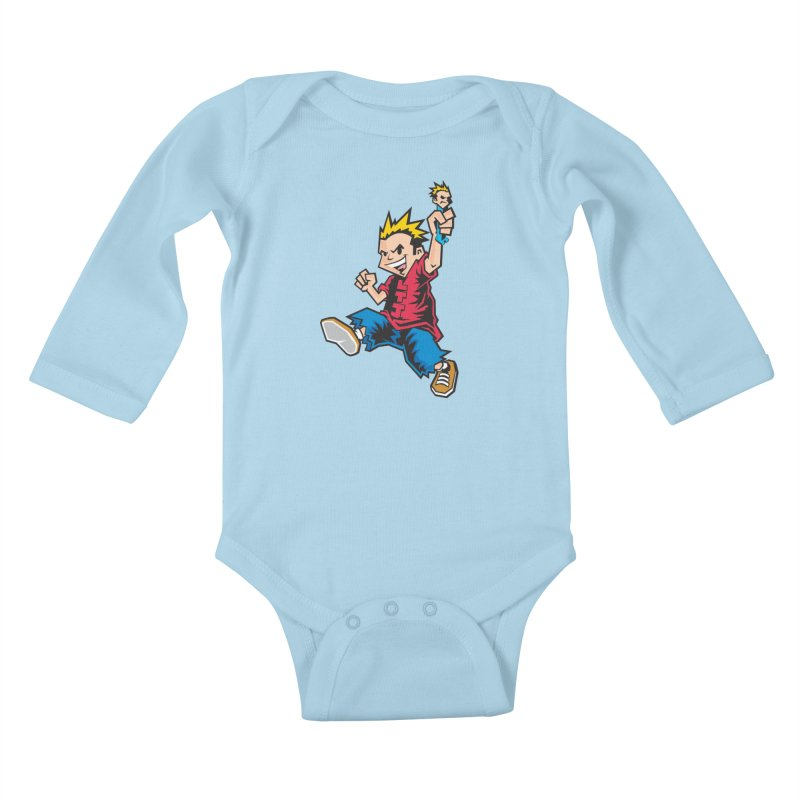 Evo Kid OG Kids Baby Longsleeve Bodysuit by Less Than Jake T-Shirts and more!