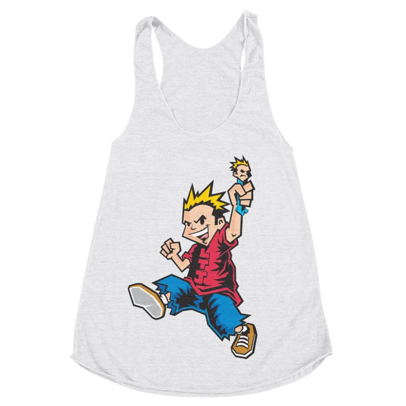 Evo Kid OG Women's Racerback Triblend Tank by Less Than Jake T-Shirts and more!