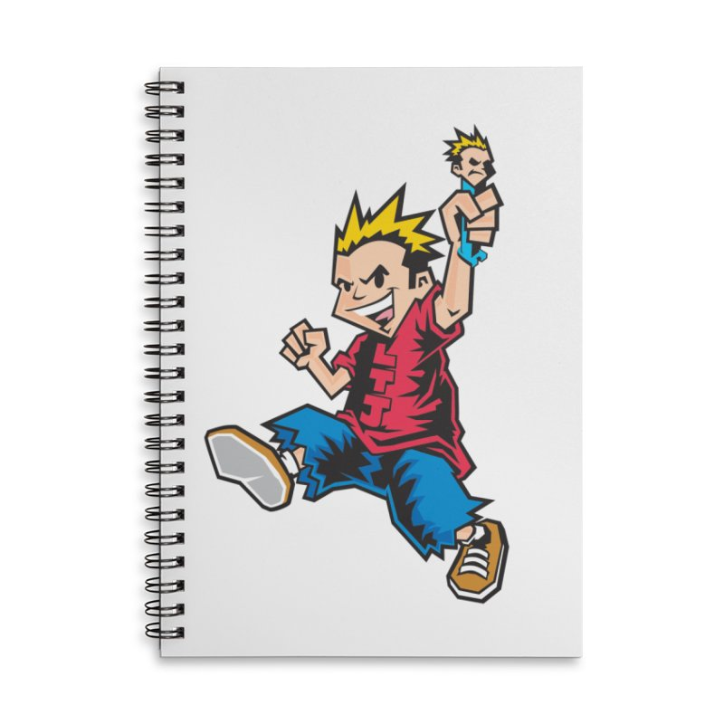 Evo Kid OG Accessories Lined Spiral Notebook by Less Than Jake T-Shirts and more!